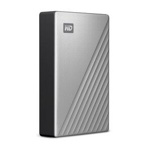 Image 3 - ويسترن ديجيتال WD ماي باسبورت الترا 1 تيرا بايت 2 تيرا بايت 4 تيرا بايت قرص صلب خارجي قرص USB C 256 AES محمول التشفير HDD ويندوز ماك