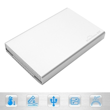 Aluminum Enclosure 2 5 Inch USB 3 1 Type C Hard Drive Disk Case Silver New
