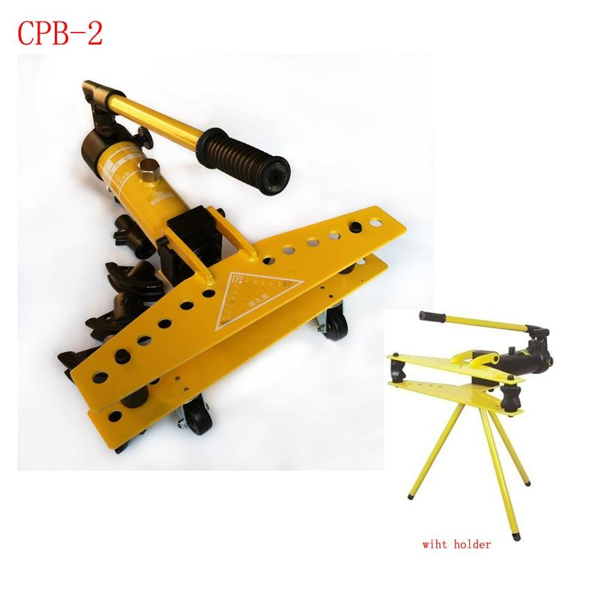 16T 2 inch aparte unit hydraulische pijp buiggereedschap, pijpenbuiger CPB-2 (22-60mm)