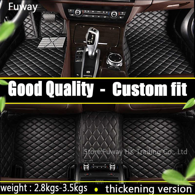 カスタム車のフロアマットフォルクスワーゲンすべてのモデルの Vw パサート b5 6 ポロゴルフトゥアレグの車のスタイリングフロアマット