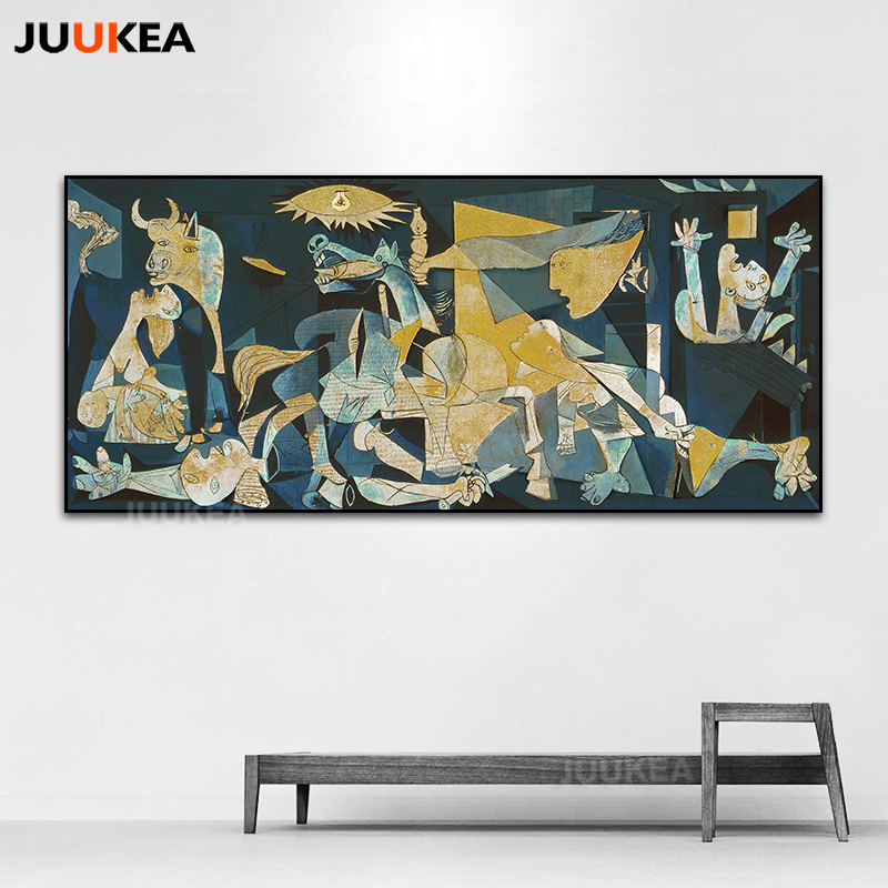 Spain France Picasso Vintage Classic Guernica Germany