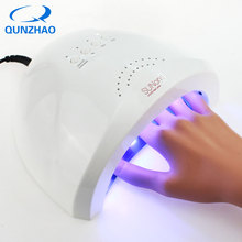 SUNONE UV LED Lamp Nail Dryer 48W Lamp for Nail Professional Nail Dryer Machine Dry Fast Home Use Curing Nail Gel Polish Tools sunone 48w professional nail lampe led manicure uv lamp nail dryer for uv gel led gel nail machine infrared sensor eu us plug