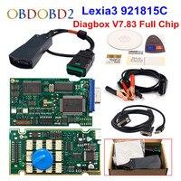 Golden Diagbox V7.83 Lexia3 PP2000 Firmware 921815C Lexia 3 For Citroen For Peugeot Car Diagnostic Tool Free Ship