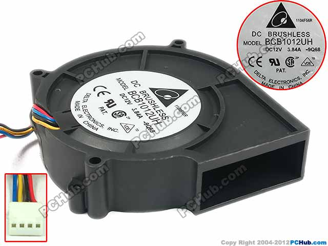 Delta BCB1012UH 9Q68 DC 12V 3.84A 97x97x25mm Server Blower fan boss bcb 30