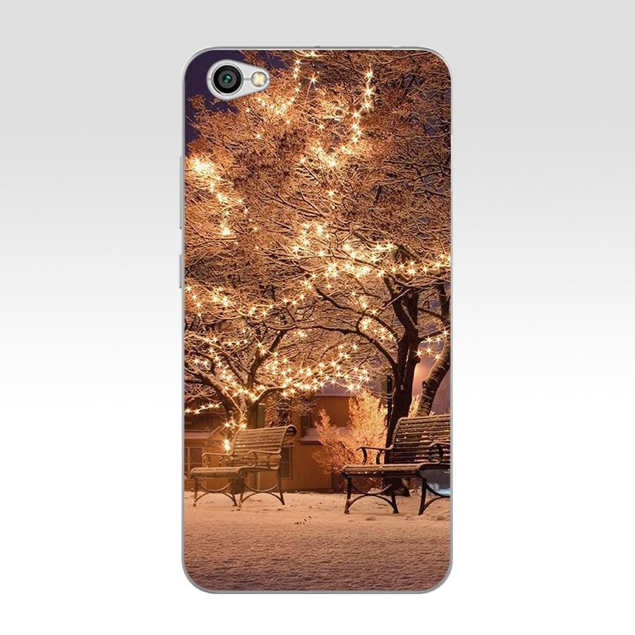 241H Animated Winter Snowman Snow Silicone Soft Tpu Cover Phone Case For Xiaomi Redmi 4A 6A 4X Note 5A Pro Mi A1