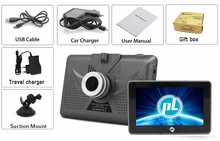 "4.5 ""Capacitiva IPS 854*480 android de navegación GPS navigator android 4.4.2 Quad Core 1.3 GHz, 8G, WIFI, Bluetooth, FM, 1080 P DVR"