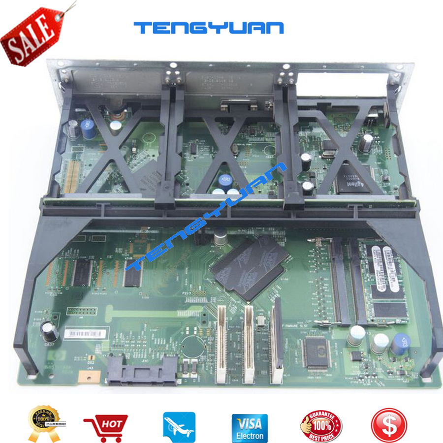 Free shipping 100% test for HP5550 5550dn Formatter board Q3713-69002 printer parts on sale free shipping new original formatter board jc9202529a for samsung clp 4195 logic board motherboard printer parts on sale