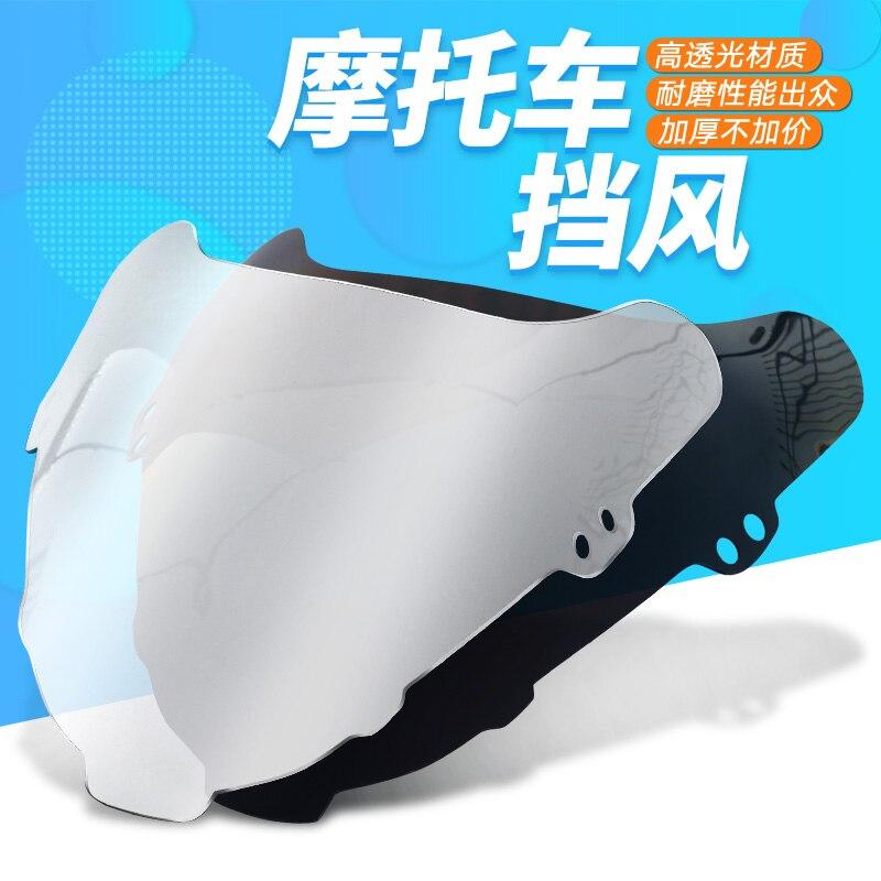 Motorcycle Windscreen Airflow Deflector Windshield For SUZUKI 400 RF400RV RF 400 RV GK 78A