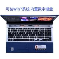 """מחברת מחשב P8-01 שחור 8G RAM 128g SSD Intel Pentium N3520 15.6"""" מחשב מחברת המשחקים הנייד DVD הנהג HD מסך עסקים (5)"""