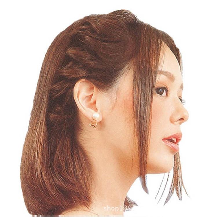 2 Teilelos Frauen Haar Zubehör Leicht Schnell Haar Stil Werkzeuge