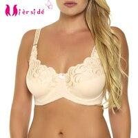 Free Shipping Plus Size Band Bra Unlined Women Underwear Soft And Fashion Big Size Bra 38CD44DD