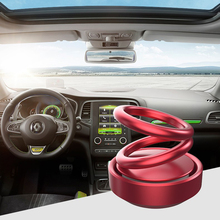 Solar Double Ring Rotating Suspension Aromatherapy 2019 Explosion Models Car Fragrance Decoration