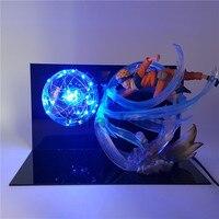 Naruto Figuarts Zero Rasengan Led Light Action Figure Toy Anime Naruto Shippuden Figurine Sasuke Uzumaki Naruto Toys Gift