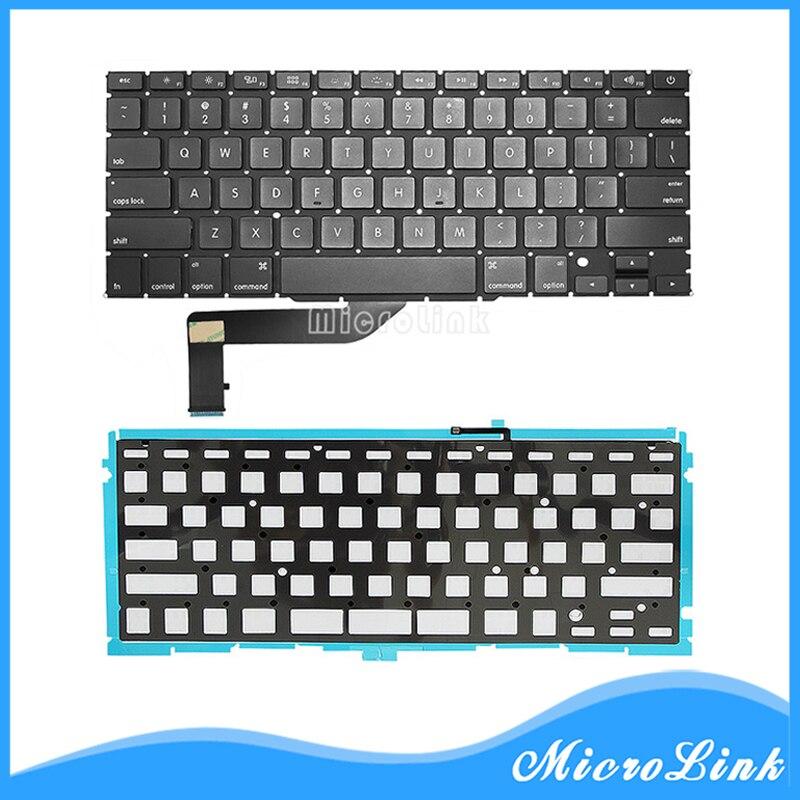"100/% New 15"" MacBook Pro Retina A1398 US Black Keyboard 2013 2014 Model"