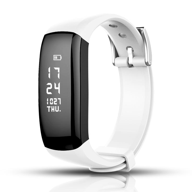 Smart Band Heart Rate Tracker Fitness Tracker Smartband Smart Bracelet Waterproof Smart Wristband Smart Watch Men lady for ios in Smart Wristbands from Consumer Electronics