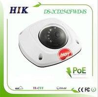 ต้นฉบับภาษาอังกฤษDS-2CD2542FWD-IS Hik 4MPมินิโดมเครือข่ายกล้องIP DS-2CD2542FWD-IS POE True WDR
