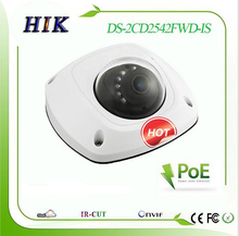 Original English DS-2CD2542FWD-IS Hik 4MP Mini Dome Network IP Camera DS-2CD2542FWD-IS POE True WDR Audio Sound