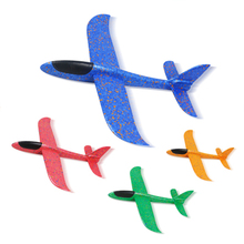 48cm DIY Hand Throw Flying Glider Planes Toys for Children Foam Aeroplane Model Party Bag Fillers Fly Airplane Boys Toy