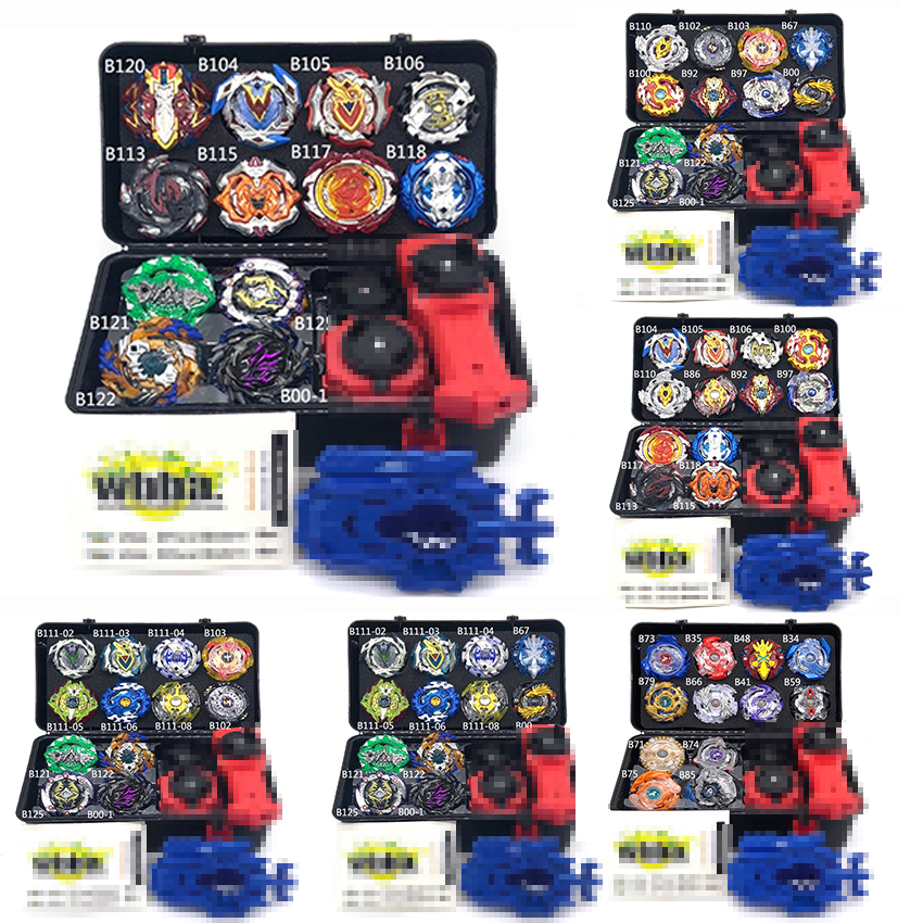 Tops Set Launchers Beyblade Toys Toupie Metal God Burst Spinning Top Bey Blade Blades Toy bay blade bablesTops Set Launchers Beyblade Toys Toupie Metal God Burst Spinning Top Bey Blade Blades Toy bay blade bables