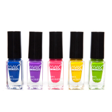 5pcs Non-toxic Soak Off Nail Polish Water-based Nail