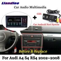 Liandlee Car Android System For Audi A4 S4 RS4 B7 2002~2008 Radio DVD TV Carplay Camera GPS Navi Navigation BT Screen Multimedia