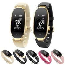 Купить с кэшбэком Original S3 Smart Watch Women IP67 fitness tracker Smart bracelet Heart Rate Blood Pressure Pedometer Fashion Sport Smartwatch