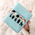 Dos Desenhos Animados Carteira G-Dragão TaeYang DaeSung SeungRi Kpop BigBang TOP Saco Da Moeda Coreana Bigbang Fãs Presente Coleção Bolsa 16041217