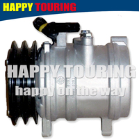 A/C Compressor w/Kubota Kioti Landini tratores Massey Ferguson 46443509 46469764 3541139M91 SP10 Embreagem 717638 720975