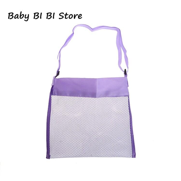 Портативная детская пляжная сумка из песка, коллекция игрушек для переноски - Цвет: Фиолетовый