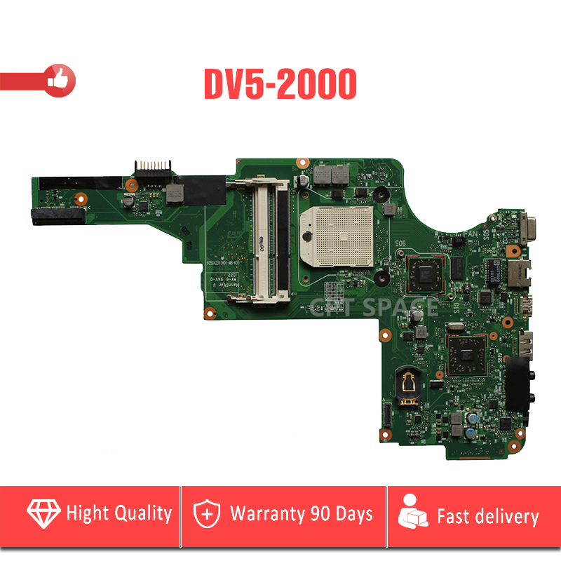 YTAI For HP Pavilion DV5 DV5-2000 laptop motherboard 6050A2313401-MB-A03 socket S1 mainboard Original Fully Tested 482867 001 for hp pavilion dv5 1000 notebook 482867 001 for hp pavilion dv5 dv5 1000 dv5 1100 laptop motherboard fully tested
