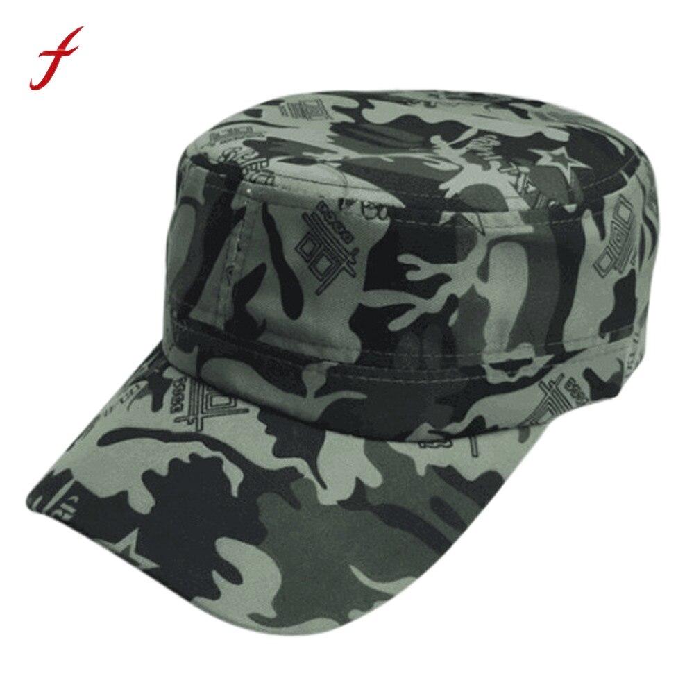 Unisex Men Women Camo Baseball Cap Hat Army Camouflage Hip Hop Sport Adjustable
