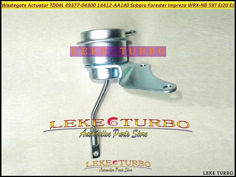Turbo Wastegate Actuator TD04L 49377-04300 14412-AA360 14412-AA451 For SUBARU Forester Impreza WRX-NB 98-03 58T EJ20 EJ205 2.0L free ship td04l 49377 04200 14412aa231 turbo turbocharger for subaru forester impreza 1998 03 58t ej20 ej205 2 0l 210hp gaskets