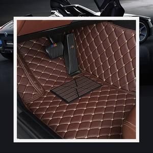 Image 4 - Araba inanıyorum araba kat ayak mat Dodge Journey kalibre Avenger Challenger şarj am 1500 nitro su geçirmez araba aksesuarları