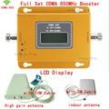1 Año de Garantía GSM 850 Señal Celular Repetidor CDMA 850 mhz 70dB GSM 850 Teléfono Celular Amplificador de Señal móvil Booster Kit Completo