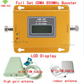 1 Year Warranty GSM 850 Cellular Signal Repeater CDMA 850 mhz Mobile Signal Amplifier 70dB GSM 850 Cell Phone Booster Full Kit