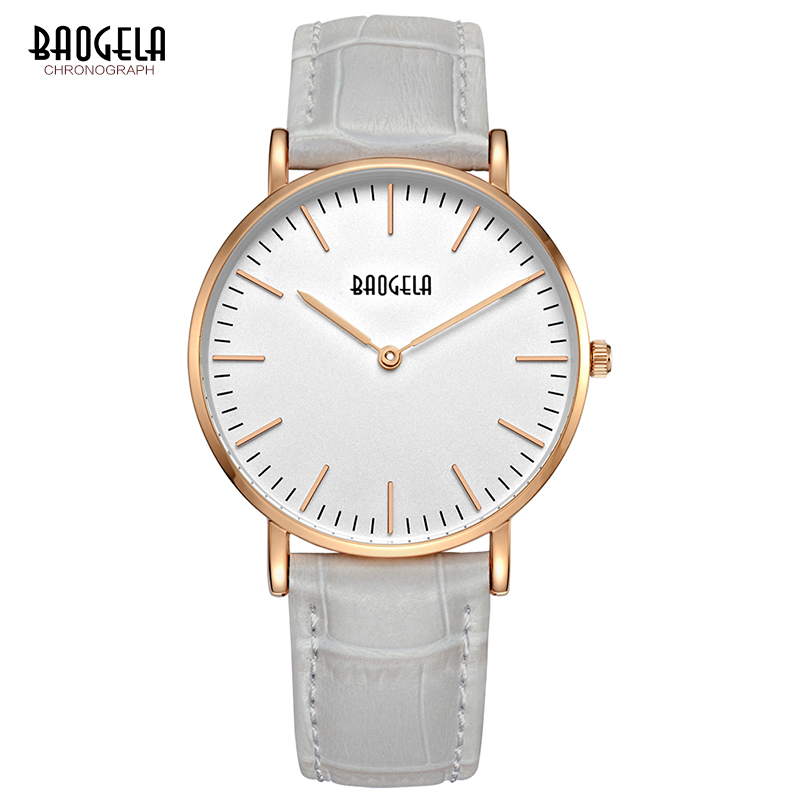 BAOGELA Ladies Watches 2017 Luxury Quartz Wrist Watch Women Sport Clock Valentine Gift Wristwatch Relogio Feminino 1609