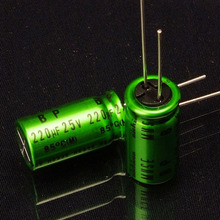 30PCS new Japanese original nichicon audio electrodeless electrolytic capacitor MUSE BP 220uF/25V free shipping