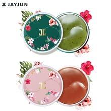 JAYJUN zielona herbata/Roselle hydrożel Eye plaster żelowy pod maska na oczy przeciw zmarszczkom usuń Finelines ciemne koło rozjaśnić 60 sztuk
