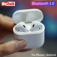 Wireless Bluetooth Earphone 5.0 3D Stereo Binaural Sports Headset for iPhone Xiaomi i12 Tws Touch control Headphones Earbuds Mic