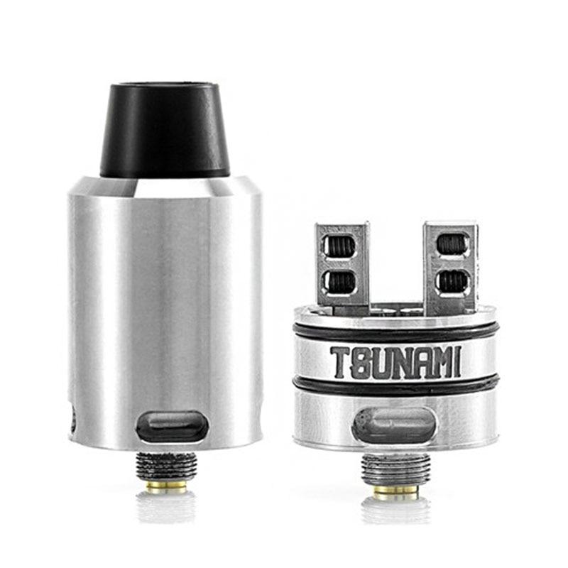 Tsunami RDA Adjustable Airflow Atomizer with Velocity style Deck Tank font b Electronic b font font