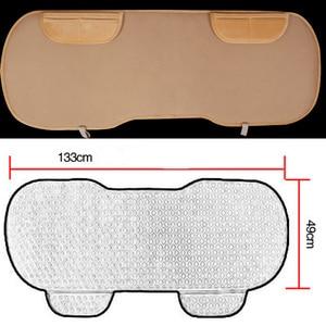 Image 4 - 自動車後部座席クッションカーシート入り江プロマットフィットほとんどの車非暖冬豪華な保つベルベットシートバックパッド