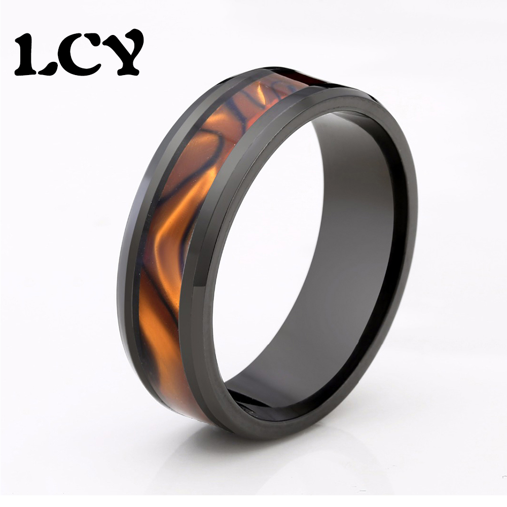 Vintage Black Ring Stainless Steel Men Ring Fashion Jewelry Floral Designs Finger Rings USA Size 6 7 8 9 10 11 12 13 14 Anel цена