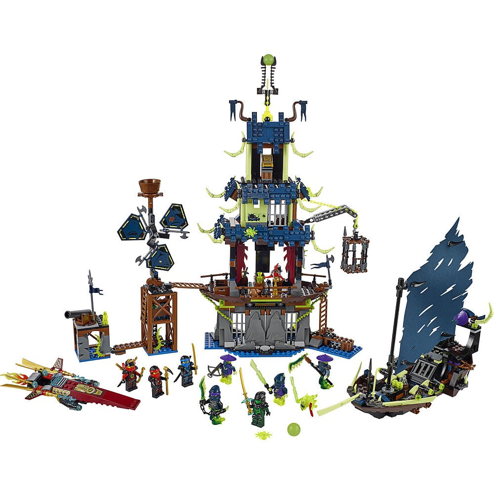 Bela-10401-Ninjagoed-City-of-Stiix-Building-Blocks-Masters-of-Spinjitzu-minifigures-Kids-Bricks-Toys-Compatible