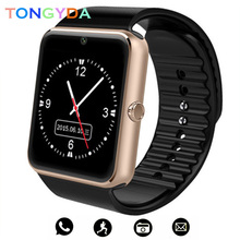Get more info on the GT08 Smart Watch for Men Fitness Bracelet IP67 Waterproof with SIM Card Slot Women Smartwatch Clock for Apple iOS Android Phone