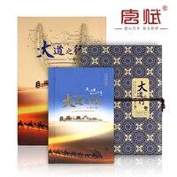 Высокое качество творческой Китайский личность подарок Avenue поездки Шелковый Ясно штампы экземплярах Book Collection из шелка альбом культурного