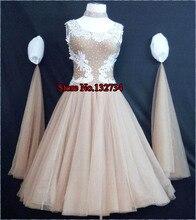 Adult Ladies dance dress dancewear dance competition Waltz tango ballroom dance modern sleeveless dresses B-0545