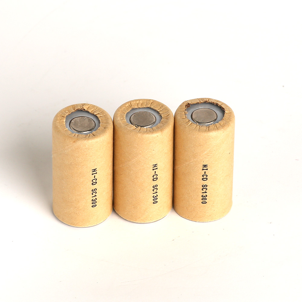 SC1300mAh 8pcs Power Cell,rechargeable battery cell,power tool battery cell,Ni-CD discharge rate 10C-15C