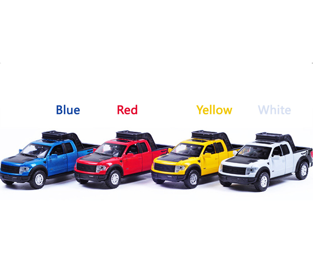 1:32 High Simulation Model Toys Car Styling Ford F150 Raptor Pickup Trucks Alloy metal Car toys for children gift