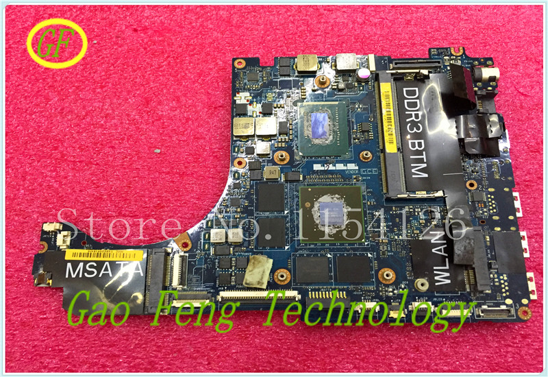 Laptop Motherboards FOR DELL L521X motherboard 9JJGG 09GGG CN-09GGG LA-7852P with i5-3210M DDR3 Non-integrated 100% tested ok