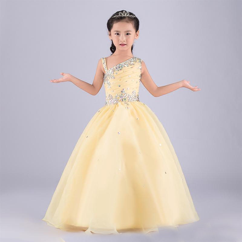 Flower Girls Dresses for Wedding Long Pretty Mother Daughter Dress Ball Gown Tulle Pageant Dresses for Communion Dresses цена 2017